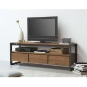 D-Bodhi Fendy TV Meubel - 3-Laden - L160 X B40 X H56 Cm - Laag - Teakhout