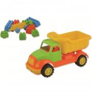 Autobasculanta 30 cm cu 36 piese constructie Ucar Toys UC103