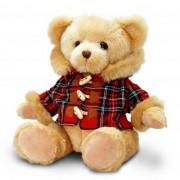 Keel Toys Pluche beer met bontkraag jasje 25 cm
