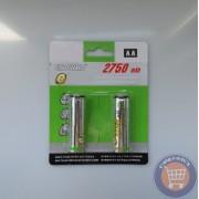 Baterii reincarcabile - 2 buc
