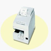 Epson TM-U675 Dot Matrix Receipt Slip and Validation Printer USB No Display Module or Hub Port Dark Gray No MICR No Auto-Cutte C31C283A8771