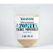 4 Ounces of Azomite - Organic Trace Mineral Powder - 67 Essential Minerals - Bulk