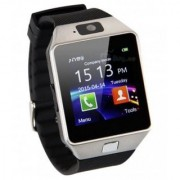 Wonder Smartwatch (M657) Bluetooth Smart Watch With Camera and Sim Card Support For All 3G 4G Phones (Silver)