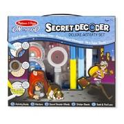 Melissa & Doug On The GO Secret Decoder Deluxe Activity Set Toy