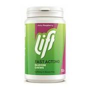 Glucotabs pastilhas de glicose pura sabor a framboesa 50pastilhas - Glucotabs