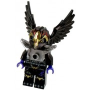 LEGO Legends of Chima Raven Tribe - Rawzom Minifigure ONLY with Silver Armour from set 70114