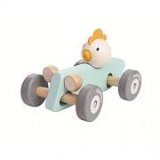 Plan Toys Samochody Plan Toys Pastelowa rajdówka z kurczakiem
