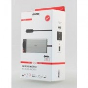 Инвертор HAMA Power, DC/AC, 150W/300W + USB, Сребрист