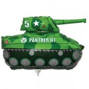 Fólia lufi, Mini forma, zöld tank