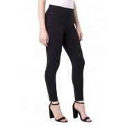 Liverpool Jeans Co Pull-On Knit Leggings Petite BLACK