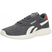 Reebok Men s Royal EC Ride Fashion Sneaker Graphite/Chalk/Scarlet 9 D(M) US