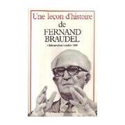 Une leçon d'histoire - Fernand Braudel - Livre