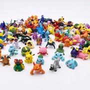 144 pc/set in Random HOT Brand New Cute Pikachu Figures Mini Monster Action Figure Toy Lot 2-3cm