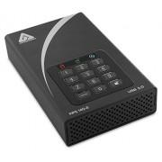 Apricorn Aegis Padlock DT FIPS USB3.0 6TB Disco Duro Externo (6000 GB, 3.0 (3.1 Gen 1), Negro)