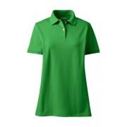 Lands' End Piqué-Poloshirt in großen Größen - Grün - 52-54 von Lands' End