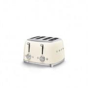 Smeg Toaster 4 fentes crème 2000 W TSF03CREU Smeg