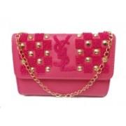 fashion maniac Women Pink Genuine Leather Sling Bag