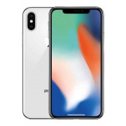 Apple iPhone X Ten 10 64GB Silver - Argento