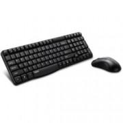 Комплект клавиатура и мишка Rapoo X1800, безжични, USB, черни