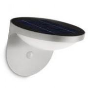 Philips Dusk wandlamp grijs met zonnecel en bewegingssensor