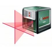 Лазер с кръстосани линии Quigo, 7 m, 0,8 mm/m, 0,25 kg, 0603663220, BOSCH