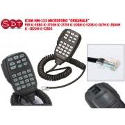 """ICOM HM-133V MICROFONO """"ORIGINALE"""" PER ICOM IC-2800-2725-2720-2820"""