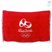 CA-RIO-CA Rio 2016 Olympic Towel Red CRC-C101903