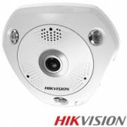 Camera antivandal FishEye IP Hikvision - DS-2CD6332FWD-IVS 3MP IR 15m IP66 IK10