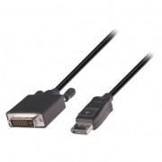 Valueline VLCP37200B20 DisplayPort - DVI video kábel 2m - fekete