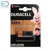Duracell AAAA MX2500/E96 LR8 D425 NEW BL2 1 db elem