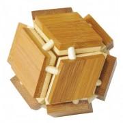 Fridolin Joc logic IQ din lemn de bambus Magic box