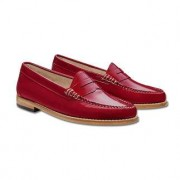 """G. H. Bass Penny Loafers """"Weejuns"""", 6 - Red"""