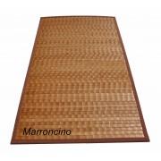 Bamboo Tamburato tappeto passatoia cm 70x140