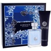 Versace Pour Homme Set ( Eau De Toilette 100ml+ Shower Gel 150ml) (8011003842025)