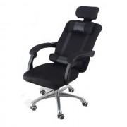 Scaun rotativ prezidential negru Transport gratuit - Confort și confort, design ergonomic!