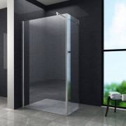 Aqua-Eco Inloopdouche met zijwand 100x30x200 cm helder glas