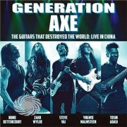 Video Delta Vai / Wylde / Malmsteen / Bettencourt / Abasi - Generation Axe: Guitars That Destroyed That World - CD