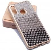 Teleplus Huaweı P20 Lite Matte Laser Silicone Case Black + Nano Screen Protector hoesje