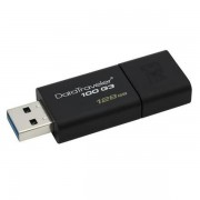 Kingston Datatraveler 100 G3 128GB Usb 3.0 Black Usb Flash Drive