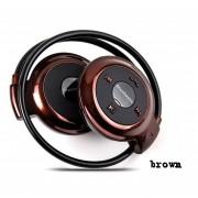 Audífonos Bluetooth Inalámbricos Deportivos, Nuevo Universal Mini 503 Audifonos Bluetooth Manos Libres Auriculares Con Micro Tarjeta De Ranura Para Sony Iphone Samsung (marrón)