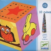 Djeco 10 Picture Cubes by Djeco
