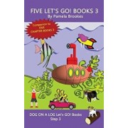 Five Let's GO! Books 3: Systematic Decodable Books Help Developing Readers, including Those with Dyslexia, Learn to Read with Phonics, Paperback/Pamela Brookes