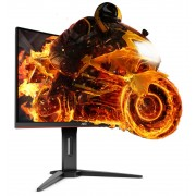 "Monitor MVA, AOC 24"", Gaming C24G1, Curved, 144Hz, 1ms, 50Mln:1, HDMI/DP, FullHD"
