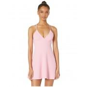 BCBGeneration V-Neck Fit and Flare Dress - GEF6221667 Pink