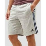 Adidas Essential 3-stripes short grijs heren