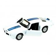 Welly Modelauto Pontiac Firebird Trans Am 1972 wit/blauw 1:34