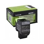 Lexmark 802SK (80C2SK0) toner negro