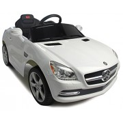 Vroom Rider Mercedes-Benz SLK Rastar 6V Battery Operated/Remote Controlled Ride-On, White