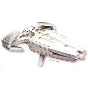 Sith Infiltrator, 73 Piece Mini 3D Jigsaw Puzzle Made by Wrebbit Puzz-3D