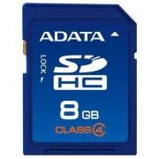ADATA SDHC 8GB Class 4 memoria flash